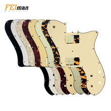 Pleroo Guitar Parts pickguard For US Fender '72 Tele Deluxe Reissue Guitar With PAF Humbucker Replacement Telecaster guitar fender pm 1 deluxe dreadnought sbst
