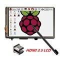 """3.5 """"LCD HDMI USB Pantalla Táctil de 1920x1080 Pantalla LCD Audio para Raspberry Pi 3 2 (Juego de Vídeo)"""