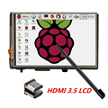 """3.5 """"Tela de Toque LCD HDMI USB 1920x1080 Display LCD Áudio para Raspberry Pi 3 2 (jogar o Jogo de Vídeo)"""