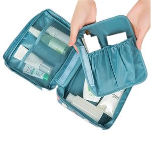 Image 5 - Travel Lady Drawer Makeup Cosmetic Organizer Storage Box Container Nail Coffin Holder Desktop Sundries Organizador Porta Joias