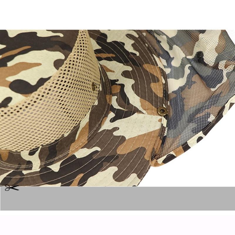 Al aire libre de pesca sombrero de ala ancha hombre transpirable de ... 4cd09211beb