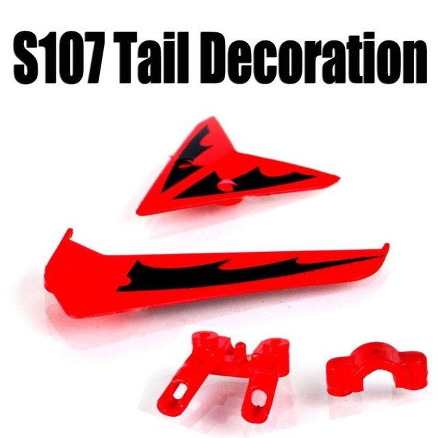 free shipping syma s107 tail decoration S107-03 spare parts