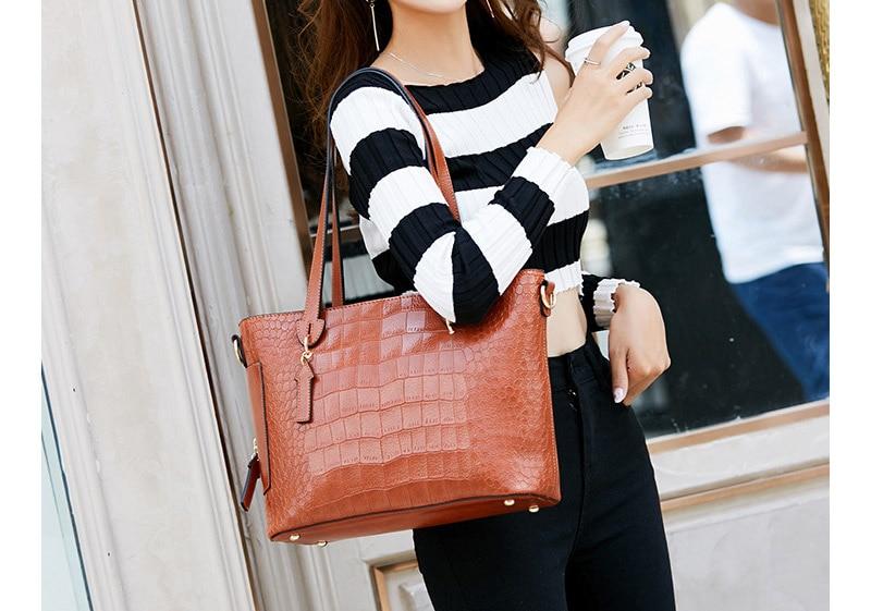 alligator crossbody bag for women shoulder bag female handbag ladies elegant shopping bag_07