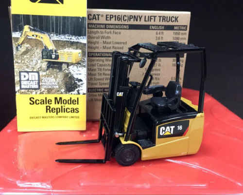 1:25 Scale Metal Model Caterpillar Cat EP16(C) PNY Lift Truck BY Diecast  Masters DM85504