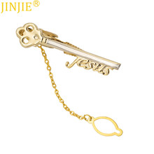 High Quality Men Pure Copper Key Shape Tie Clip Bar Necktie Pin Clasp Clamp Wedding Charm Creative Gifts Clip Mens Gifts Jewelry meirenpeizi 1 pcs men s alloy metal tie clip fashion silver simple necktie tie pin bar clasp clip crystal tie pin for mens