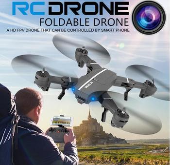 Wifi FPV RC Quadcopter 8807G-sensor altitud plegable Selfie aplicación remota RC Drones con 480p HD 720P Cámara del H37