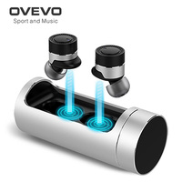 Original OVEVO Q62 PRO Wireless Bluetooth Earphone with Charging Dock 800mAh Battery Noise Cancel CVC 6.0 Headset for Smartphone