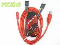 FREE SHIPPING 4PCS PIC PIC Kit 3 PICKit3 Programer PIC Kit3 PIC Simulator Kit3 USB Cabel