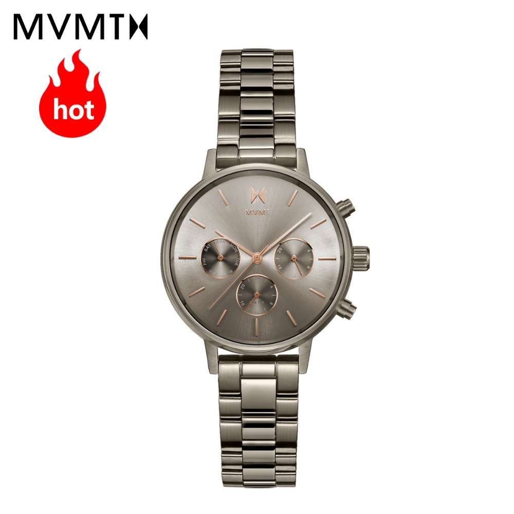 MVMT watch | Official flagship store fashion trend students women's female watch simple genuine steel watchband watch