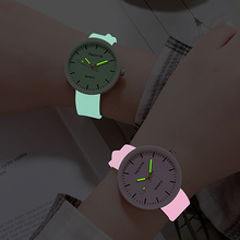 Luminous Kids Watches Girls Creative Romantic Jelly Gifts Reloj Cute Silicone Ba