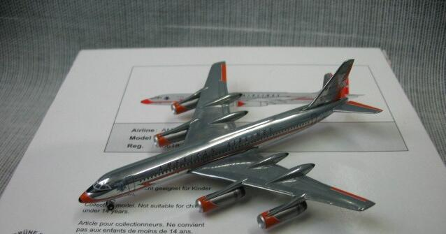 Out of print IF 1: 500 American convair 990 n5618 Alloy aircraft model Favorites Model