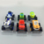 Nueva llegada 6 unids/set monstruo lindo toys vehículo coche máquinas de transformación toys con caja original mejores regalos para los niños