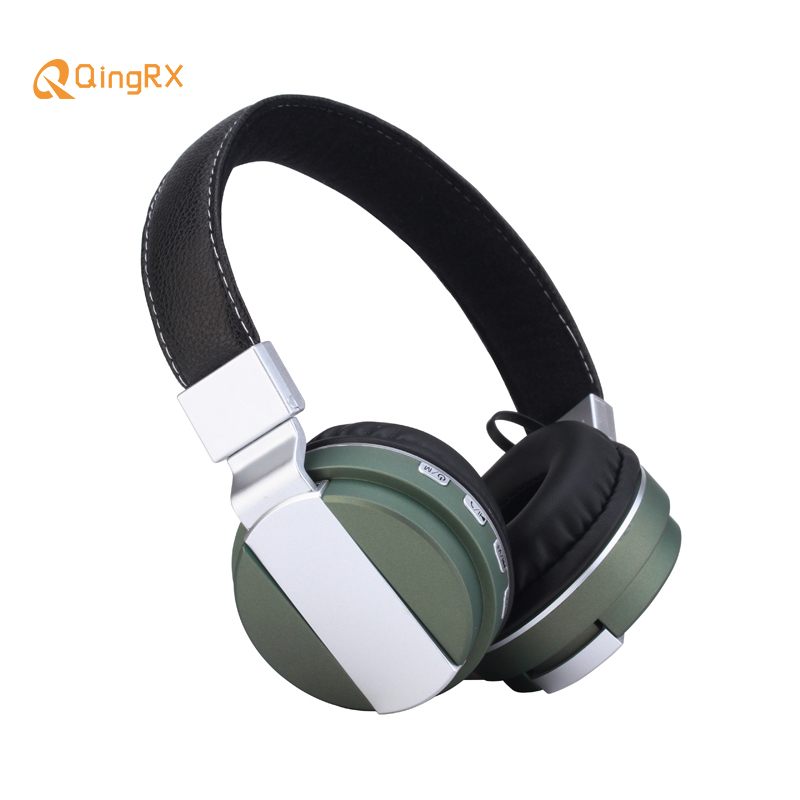 Bluetooth Earphone BT008 Fashionable Wireless Stereo Bass Headphone Foldable Portable Earphone Support TF Slot AUX for MP3