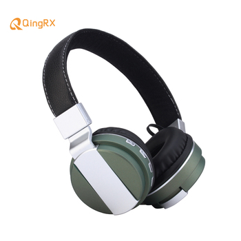 Bassbo Bluetooth Headphone BT008 Stereo Wireless Foldable Metal Headset Portable Earphone Support TF Slot AUX MP3 Player