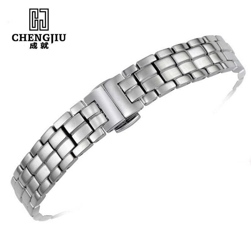 где купить Stainless Steel Watchband For Tissot Mido Watch Strap Band T094 1853 12MM Watch Band Watch strap For Women Bracelet For Watches по лучшей цене