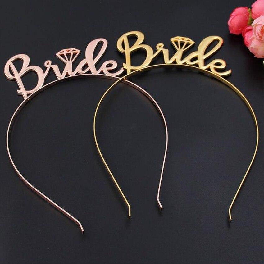 Bride Wedding Crown: Meetcute Bride Bridesmaid Tiara Crown Headband