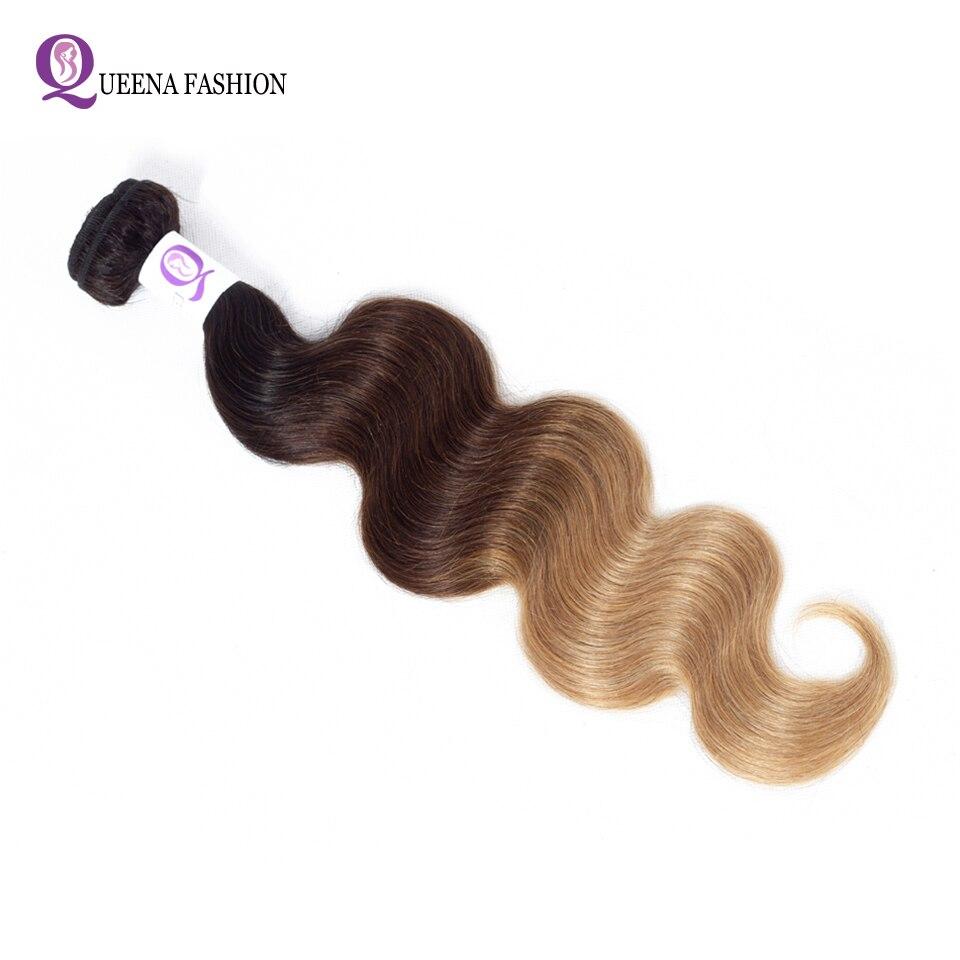 pacotes loira t1b 4 27 30 não remy extensão do cabelo