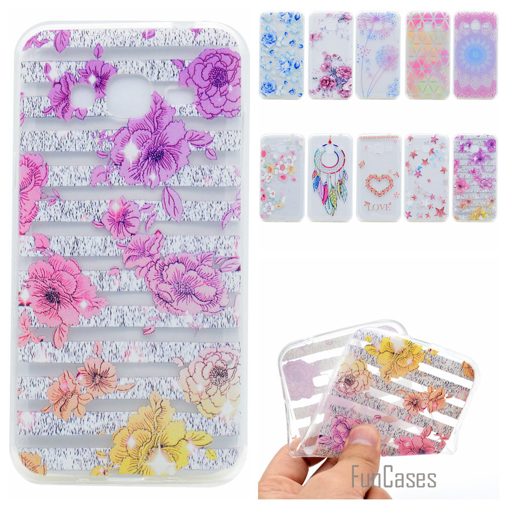 Cute Phone Case For Samsung Galaxy J2 J5 J7 J1 Mini Prime Coque Colorful Soft TPU Case For Samsung J5 J3 2016 etui Back Cover ...