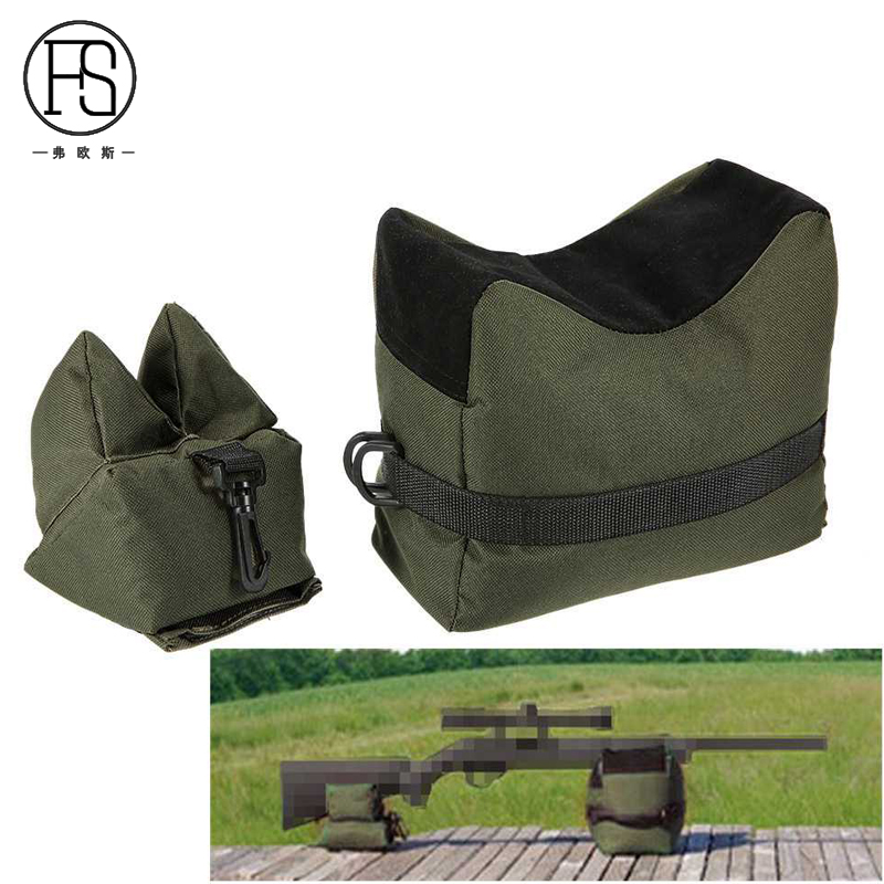 Tactical Shooting Gun Front Rear Support Bag Outdoor Hunting Sandbag Bench Sniper Rifle Gun Support Package
