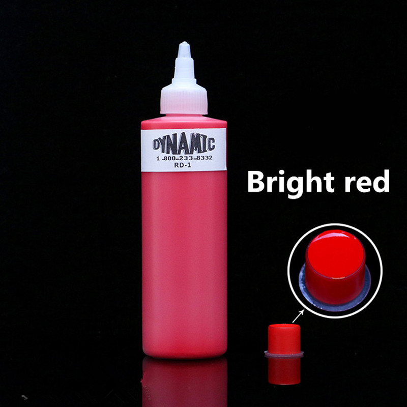 High Quality 1 Bottle 250ML Red Tattoo Ink Latest Shader PigmentHigh Quality 1 Bottle 250ML Red Tattoo Ink Latest Shader Pigment