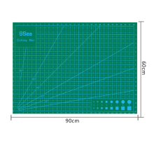 Good quality A1 60x90cm green Self Healing vinyl cutting mat for vinil film paper cutting & design MX-142S DHL Free shipping цена