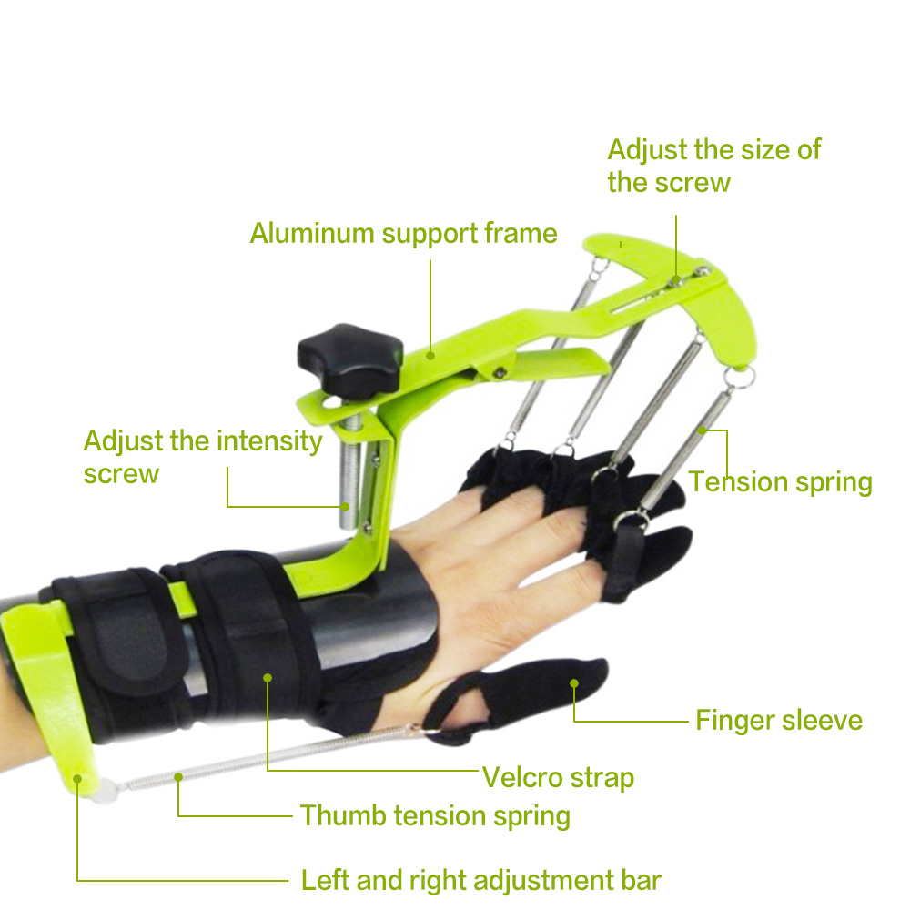 Dynamic Wrist Finger Orthotics Extended Type Finger Support Braces Posture Corrector Hand PHYSIOTHERAPY REHABILITATION Training
