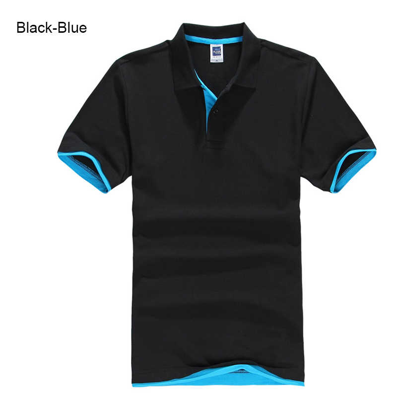 Plus Ukuran XS-3XL Merek Baru Pria Polo Shirt Kualitas Tinggi Pria Kapas Lengan Pendek Shirt Merek Jerseys Musim Panas Pria kaos POLO