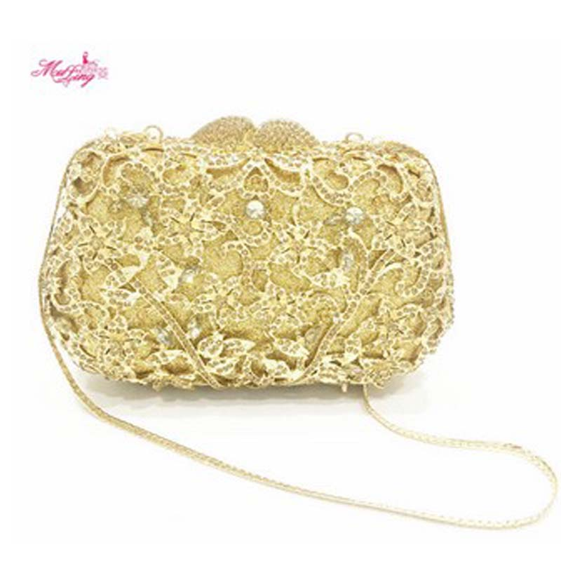 New Brand Handbags Wedding Bride Messenger Evening Bag Diamonds Women Wallet Wedding Crystal Purses Fashion Handbags 2017 Gifts free shipping 2015 top gifts new bride rhinestone evening bags punk colored acrylic diamonds clutch bag shoulder handbags 0430