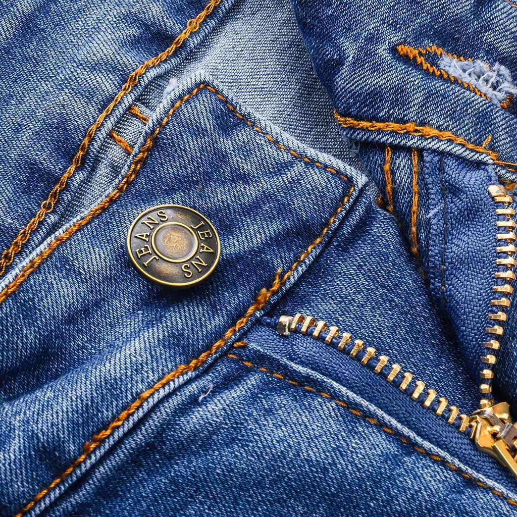Женские летние брюки, новинка 2019, Стрейчевые джинсы, женские модные джинсы, джинсовые сексуальные женские джинсовые брюки-карандаш, уличные джинсы Y521