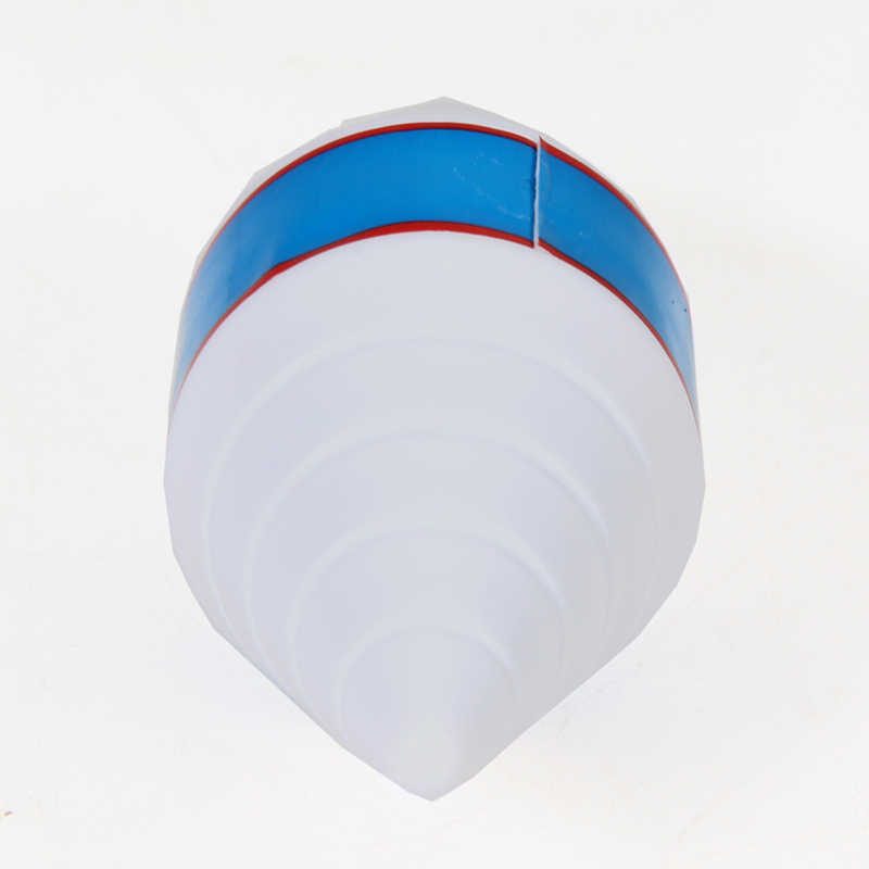 Pelota de Golf de equilibrio de pelota de Putter de pelota de equilibrio de Golf de plástico de entrenamiento de práctica de Golf de regalo de Golf blanco 11,5x4 4x4 cm