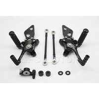For DUCATI 1098 1098S 1098 S Rearset Rear Set Foot Pegs Rest Footrest Motorcycle Part