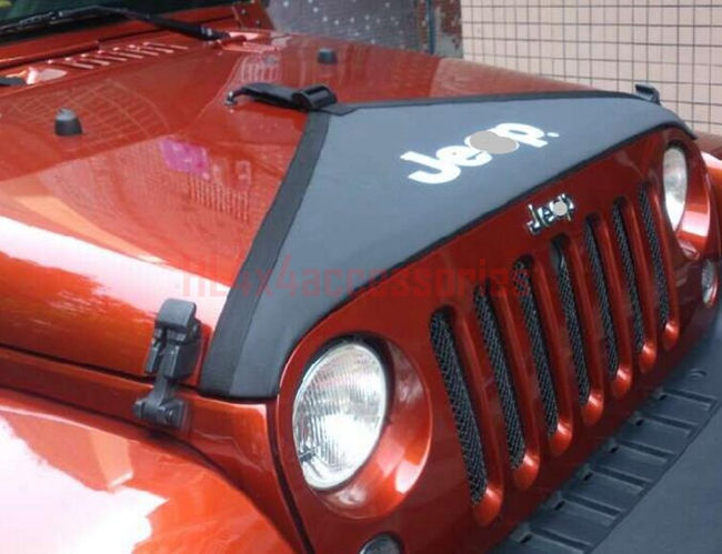 Jeep Wrangler Accessories 2017 >> For Jeep Wrangler 2007 2017 Hood Cover Car Engine Cover Cowl