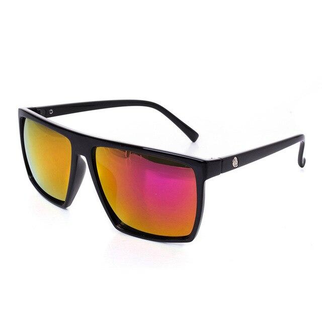 ce1f4bf2b Hot Vender Clássico Homens Quadrado Revestimento Espelhado óculos de Sol  Men oculos de sol masculino óculos