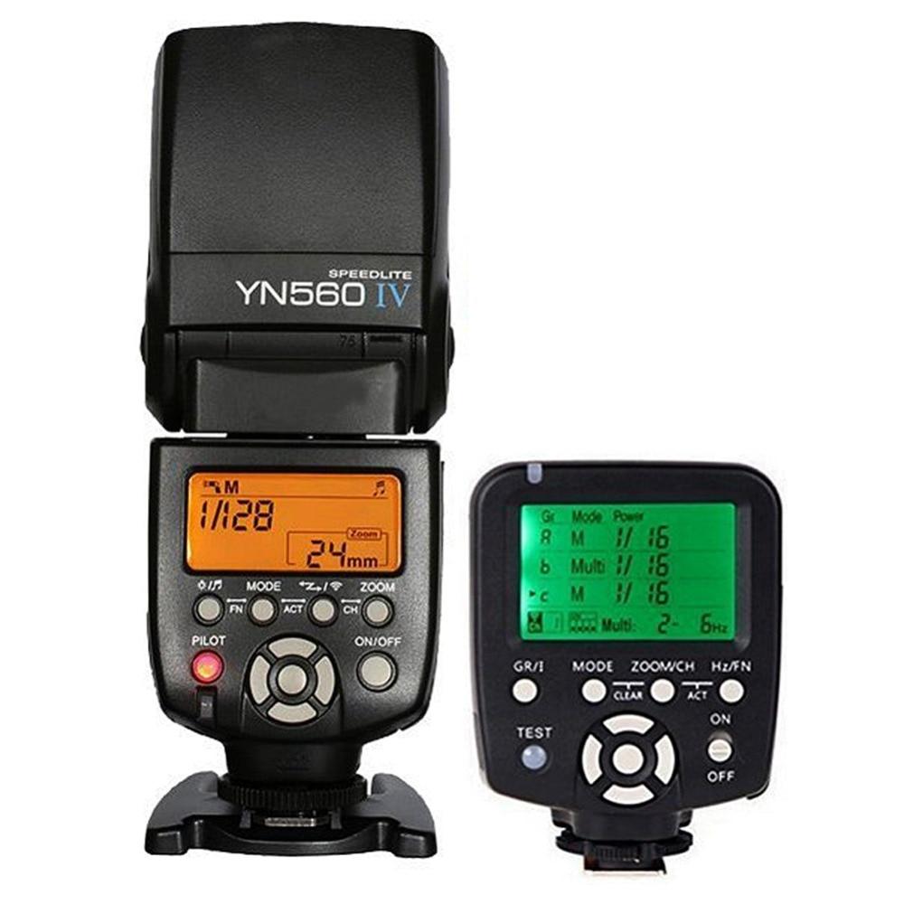Yongnuo YN-560 IV YN560IV YN560 IV Universal Wireless Flash Speedlite + YN560-TX trigger For Nikon DSLR