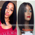 10-14 Inch Short Cut Bob Wig For Black Women Hot Style For Summer Silky Straight Synthetic Lace Front Wig With Baby Hair