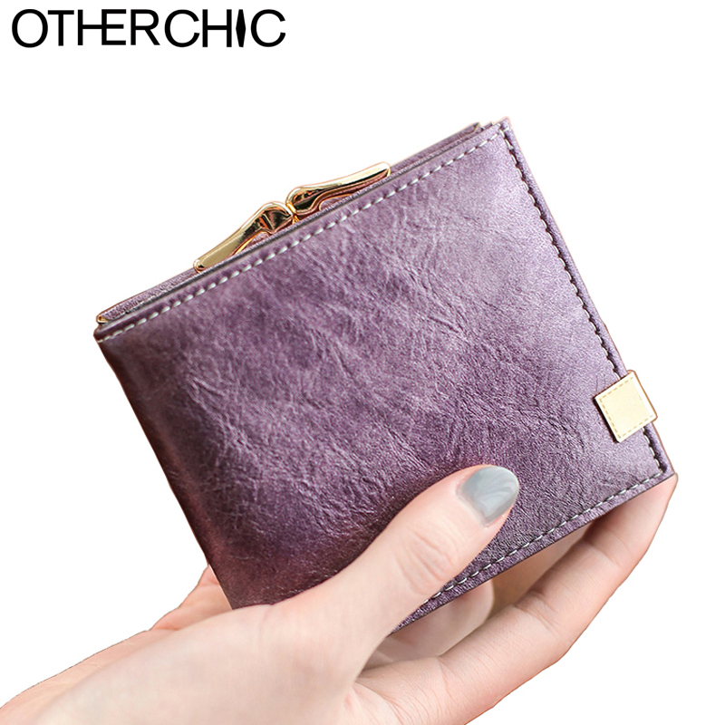 OTHERCHIC Fashion Women Short Wallets Ladies Small Wallet Fes