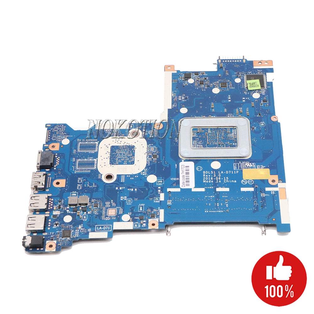 Image 2 - NOKOTION 854962 601 854962 001 Laptop Motherboard for HP 255 G5 15 BA BDL51 LA D711P 858589 601 858589 001 Main board-in Motherboards from Computer & Office