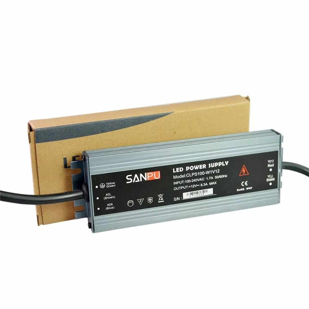 Светодиодный ультра тонкий водонепроницаемый светодиодный индикатор питания IP67