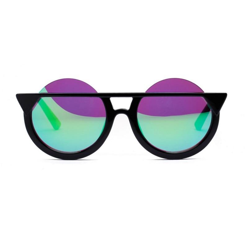 Retro Cat Eye Shaped Modern Oversized Sun Glasses Men Women Sunglasses Eyewear Oculos De Sol