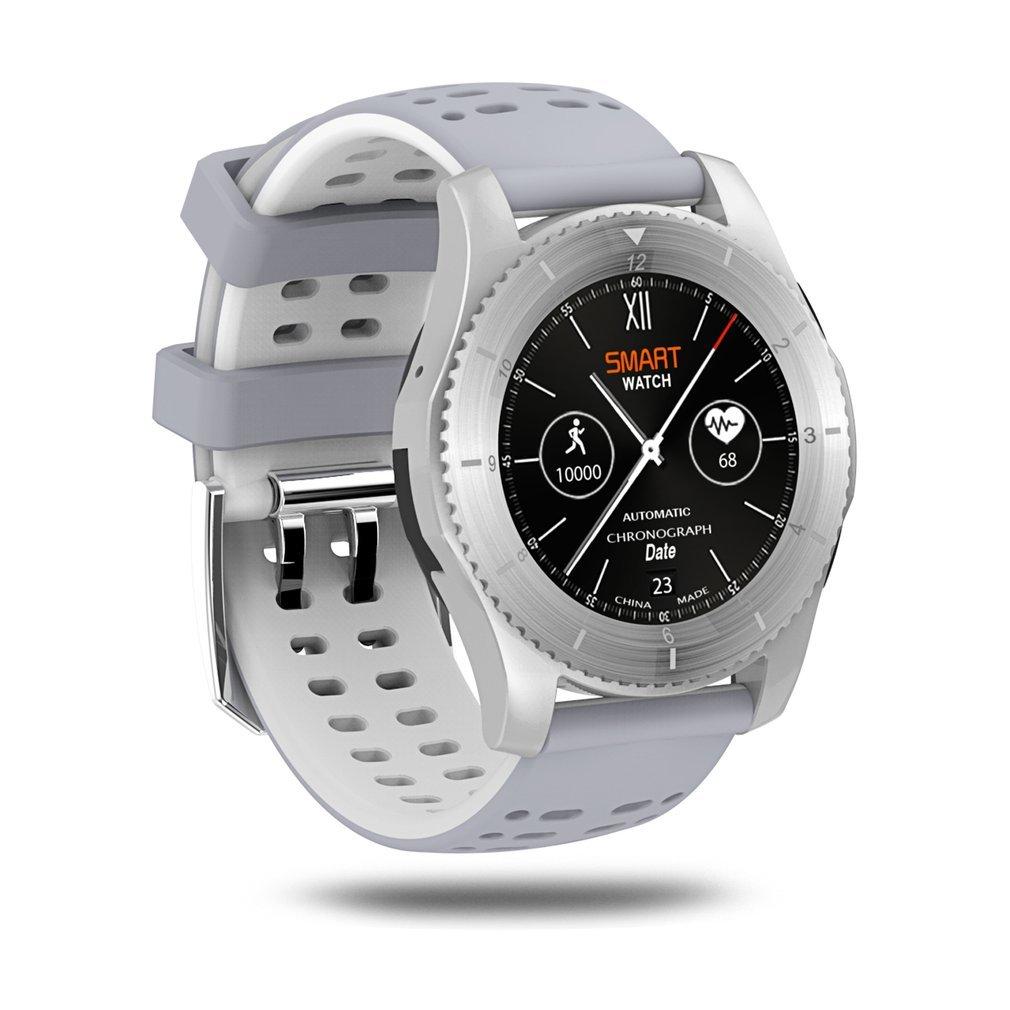 где купить GS8 Smartwatch Bluetooth 4.0 SIM Call Message Reminder Push Blood Pressure Heart Rate Monitor Sport Watch Hot Sales дешево