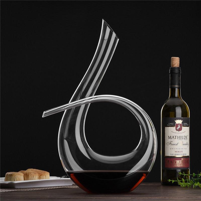 Neue Handgemachte Kristall Rotwein Ausgießer Glas Dekanter Brandy - Küche, Essen und Bar - Foto 4