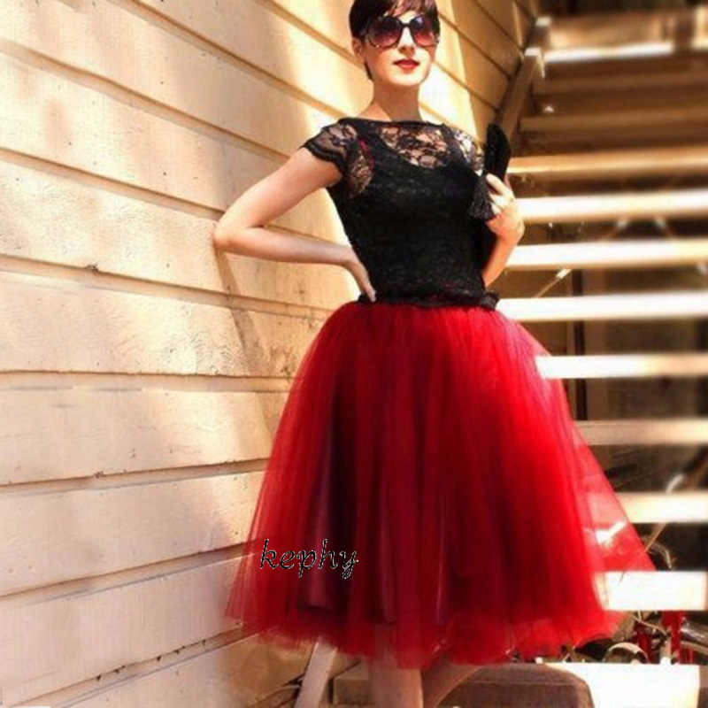 54107c825 5 layers 65long wine color skirt knee length dance tutus girls puffy skirts  birthday clothing women