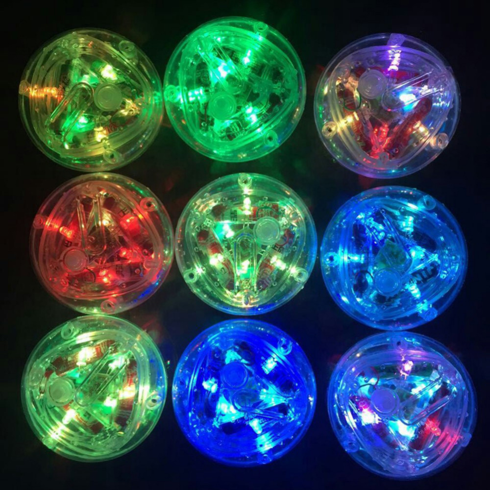 Bathroom Waterproof Colorful LED Light Toys Party In The Tub Toy ...