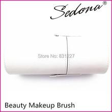 Sedona Fashion Makeup Brush Holder,White Makeup Brush Case,Cylinder Cosmetic Brush Case 8cm*8cm*19cm