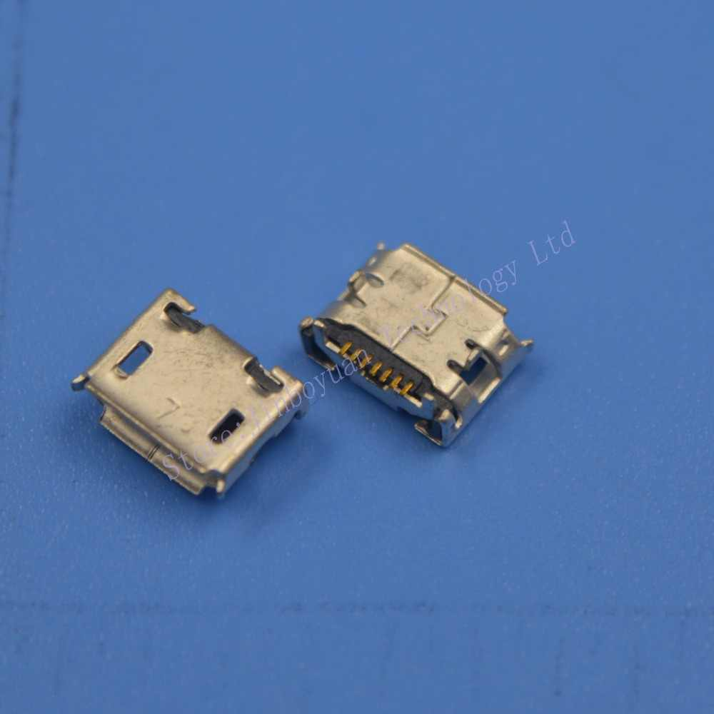 Occus Yoton 1pcs Micro USB Connector Socket Charging Port for Samsung NOTE3 S8500 G630 I8160 S7562 S3 I9300 S2 S6 5 4 Cable Length: MC-397