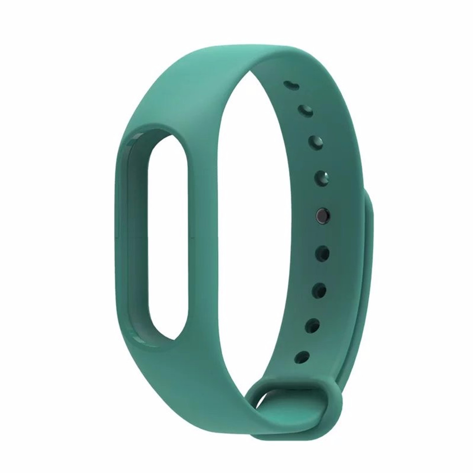 Teyo Silicone Replacement Wrist Strap For Xiaomi Mi Band 2 Smart Band Accessories Miband 2 for Xiaomi Mi Band 2 Smartband Sraps 17