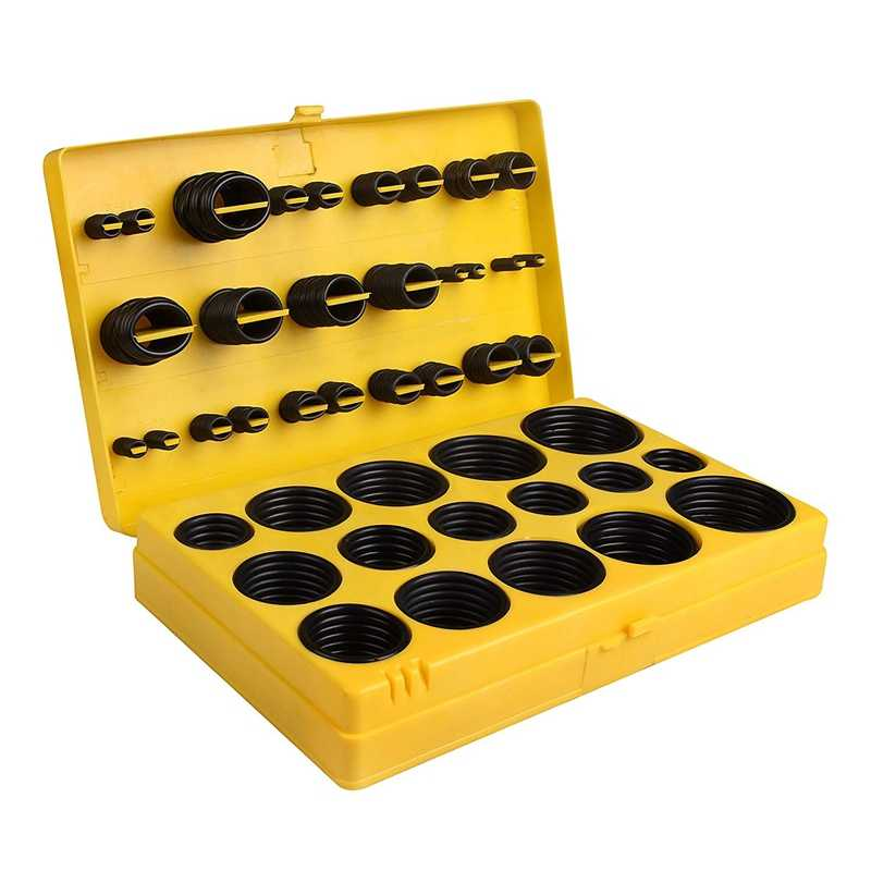 420 Pcs/32 גדלים גומי ברז 0-טבעת איטום אטם מכונת כביסה חותם מבחר סט גבוה כיתה גומי O -טבעת ערכת תחזוקה, plu