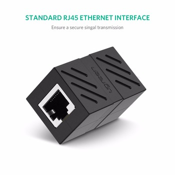 RJ45 Connector Cat7/6/5e Network Ethernet Extender for Ethernet Cable Female to Female 4