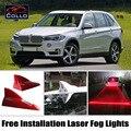 Para BMW X5 E53 E70 F15/X6 E71 E72 F16/Livre instalação de Energia Solar de Barbatana de Tubarão Do Laser Luzes de Nevoeiro/Múltipla Modo de Aviso Da Lâmpada