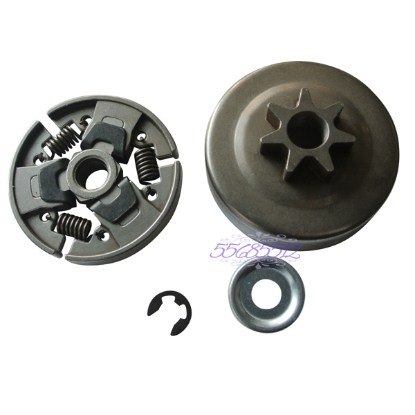 CLUTCH DRUM AND CLUTCH FIT FOR STIHL 017 018 MS170 MS180 021 023 025 MS210 MS250 Chainsaw Parts